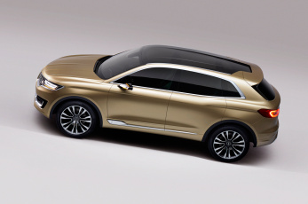 обоя lincoln mkx concept 2016, автомобили, lincoln, concept, mkx, crossover, 2016