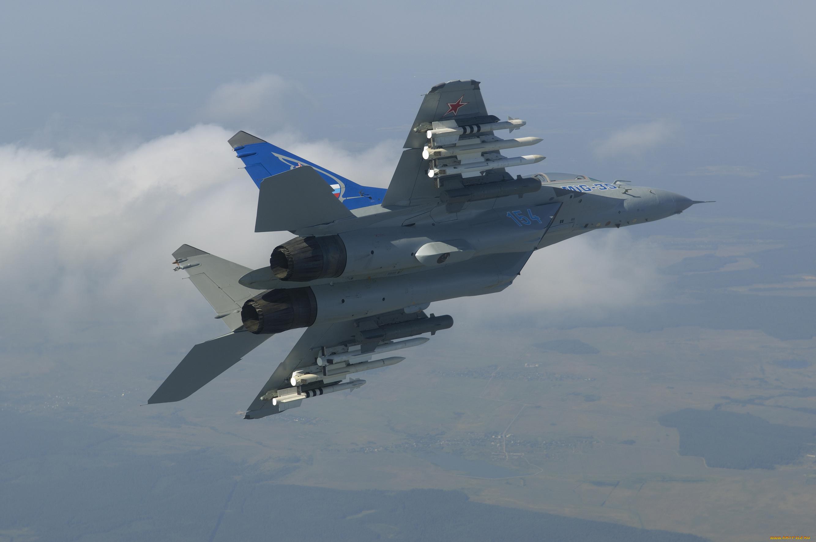 самолет ВВС РФ МиГ-35 Микоян  № 3741385  скачать