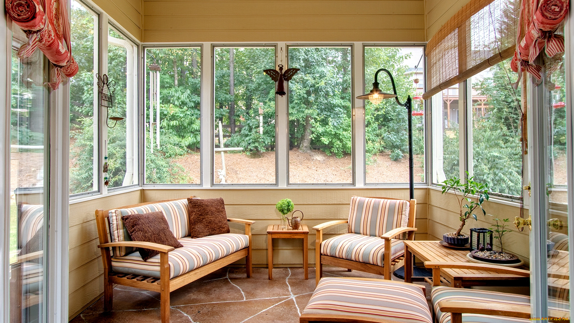 Летняя кухня на даче и в частном доме: фото видов и варианто.
