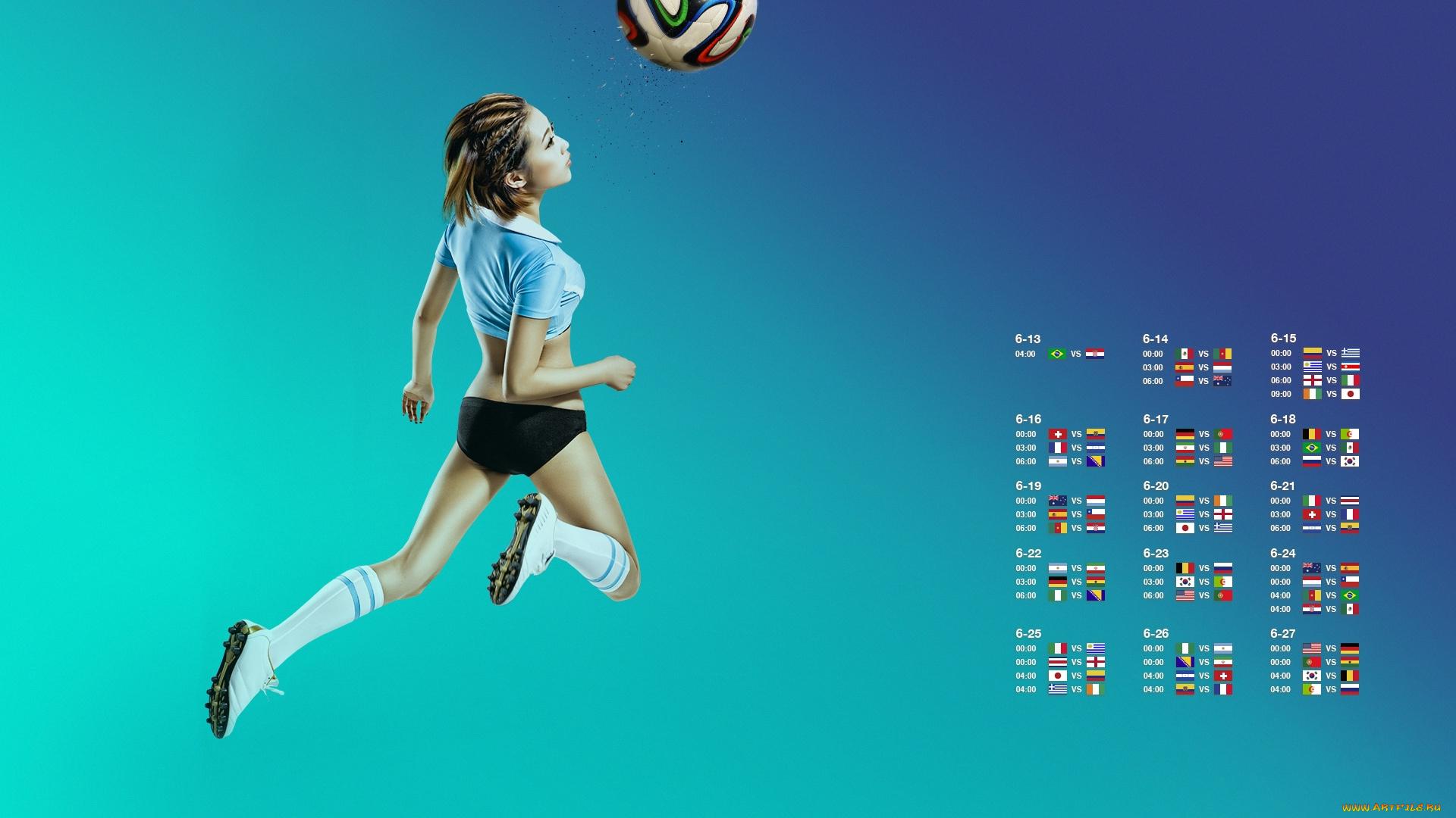девушка спорт футбол загрузить