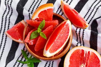 обоя еда, цитрусы, красный, сочный, грейпфрут