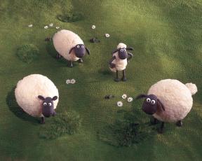 Картинка мультфильмы shaun the sheep