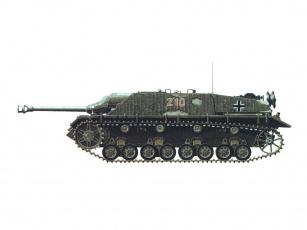 обоя jagdpanzer, iv, техника, военная