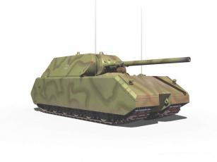 обоя сверхтяжёлый, танк, pz, viii, маус, техника, военная