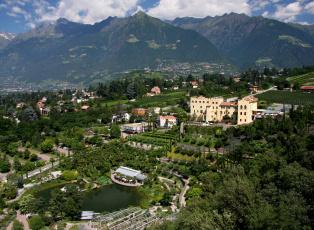 Картинка италия мерано города пейзажи