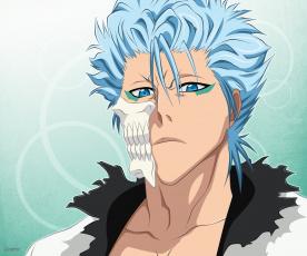 Картинка аниме bleach гриммджоу