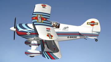 обоя авиация, 3д, рисованые, v-graphic, самолет, полет
