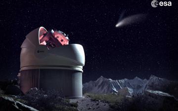 обоя космос, разное, другое, обсерватория, телескоп, наука, техника