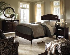 Картинка интерьер спальня подушки кровать