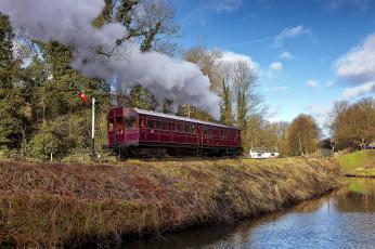 Картинка техника вагоны железная паровоз дорога