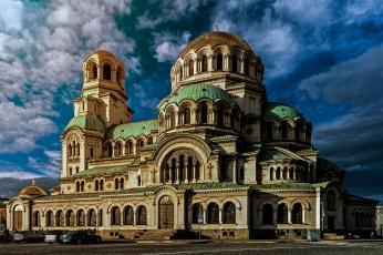 обоя sofia,  bulgaria, города, - православные церкви,  монастыри, храм