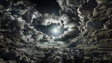 обоя природа, облака