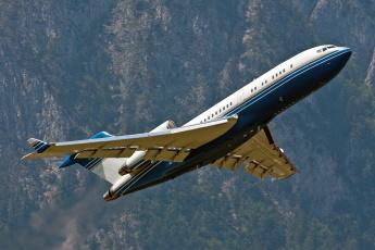 Картинка авиация пассажирские самолёты boeing 727-76 innsbruck - kranebitten