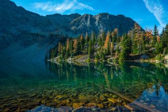 Картинка природа реки озера река лес пейзаж горы