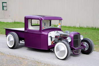 обоя 1932-ford-pickup, автомобили, custom pick-up, ford