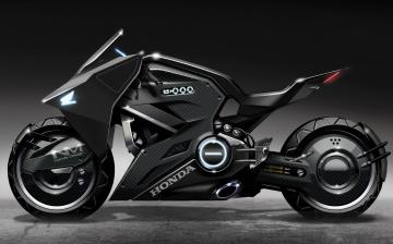 обоя honda concept, мотоциклы, 3d, honda, concept, motorcycle