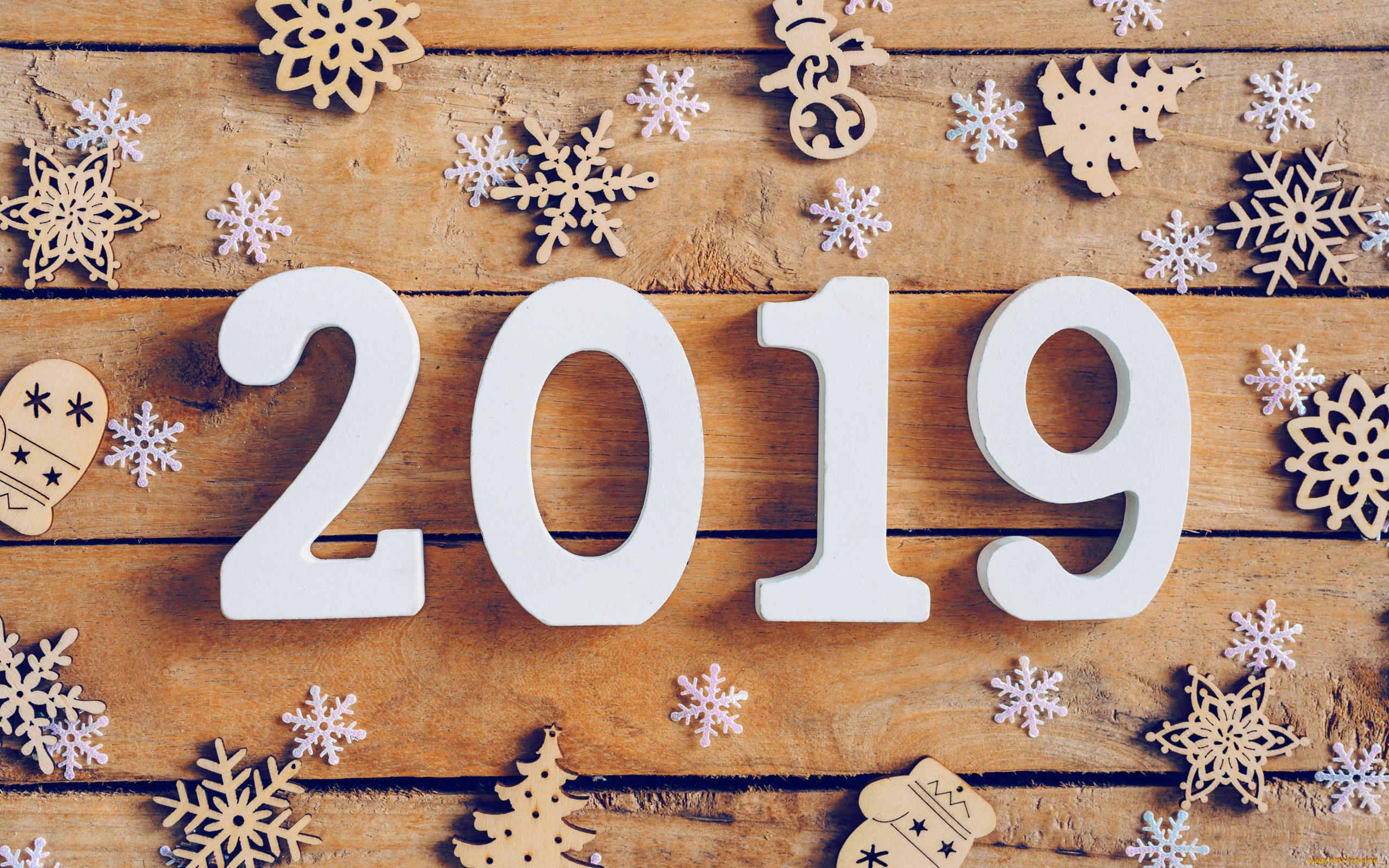 Картинки с надписью 2019 год, уткой