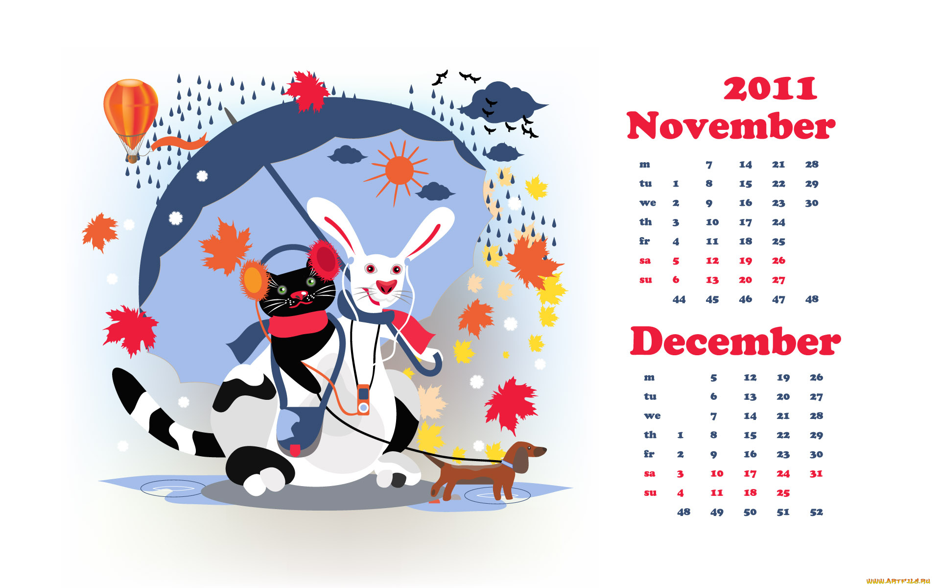 Поздравление днем, красивые календари рисунок