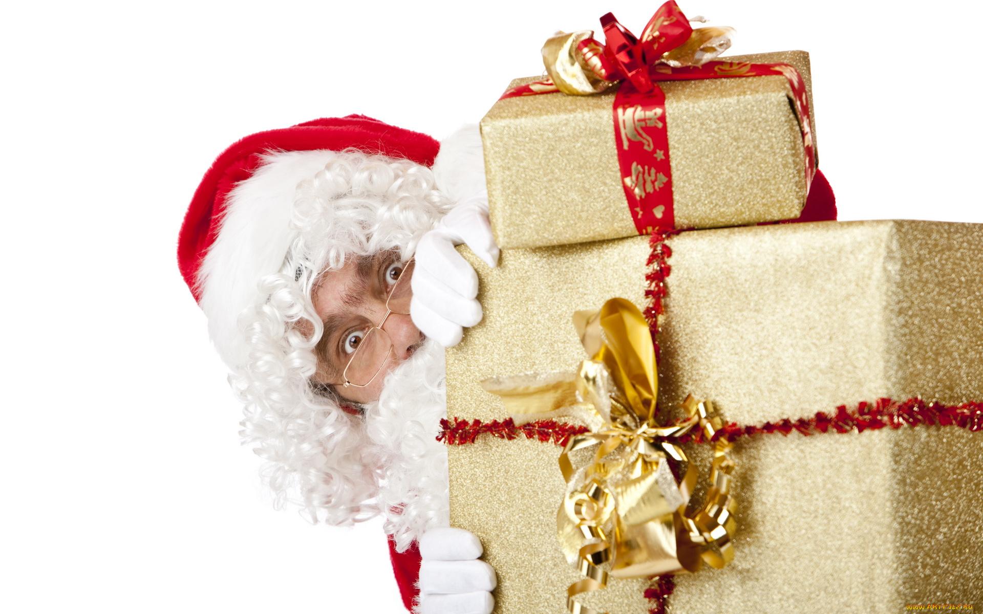 Прикольные картинки новогодние подарки