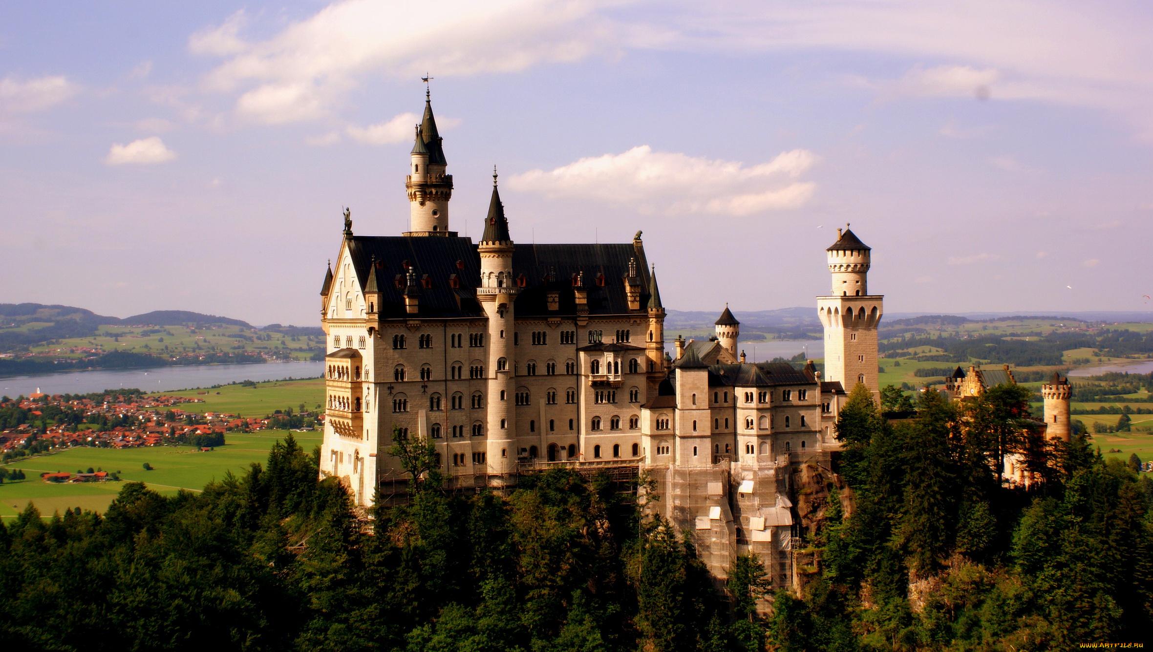 Neuschwanstein Castle, Bavaria, Germany без смс