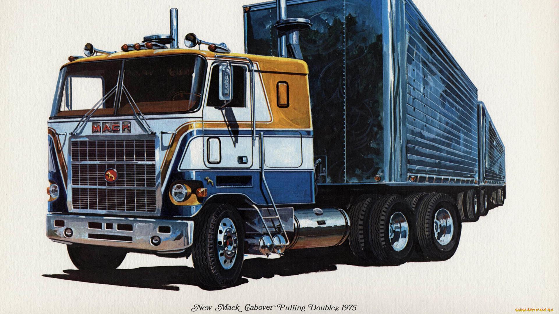 Фото грузовик рисунку телевизионного