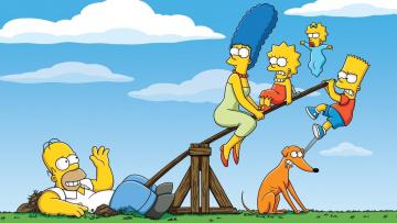 обоя мультфильмы, the simpsons, the, simpsons, homer, simpson, симпсоны