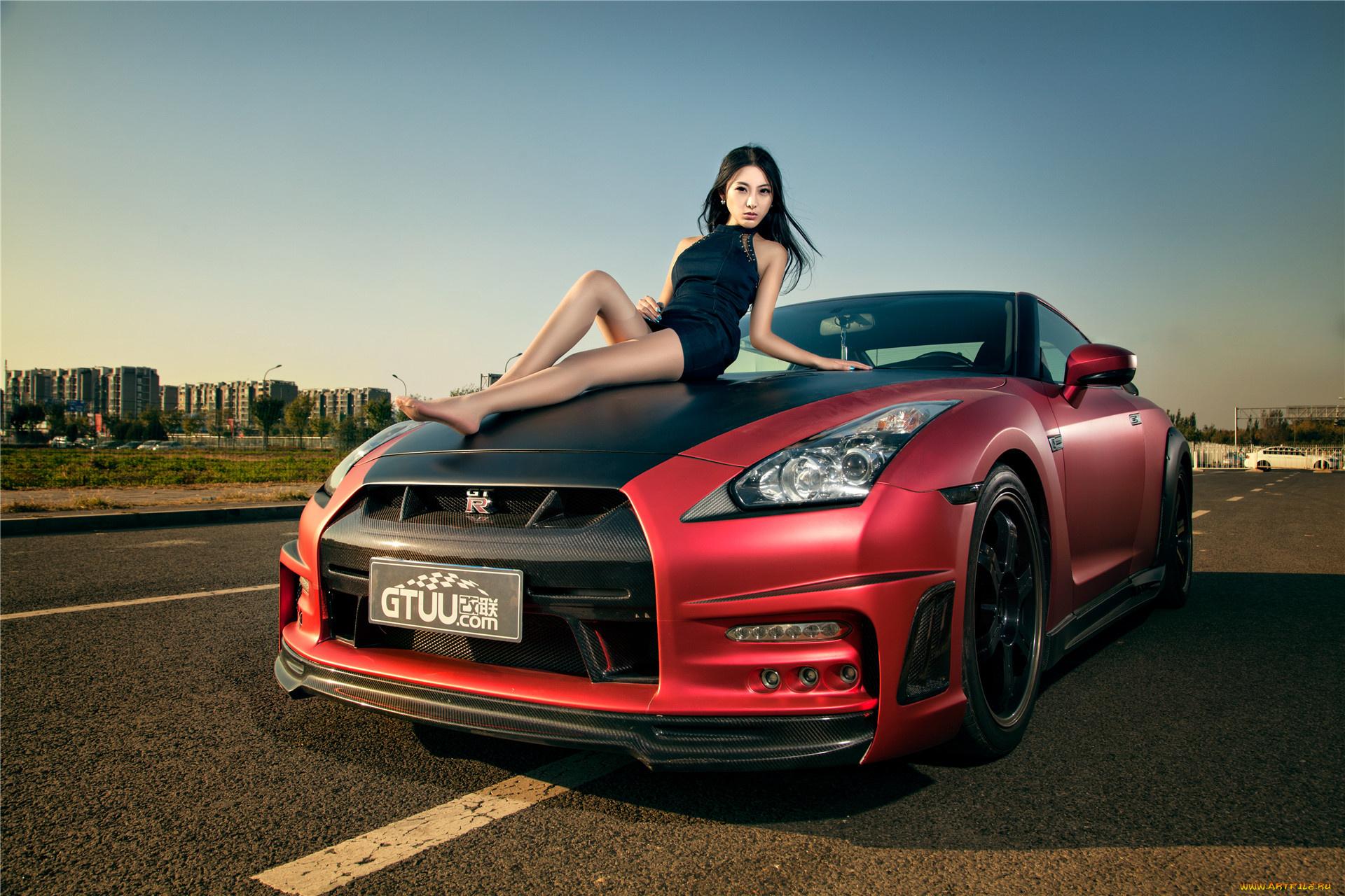 Фото авто девки, Сексуальные девушки и автомобили 18 фотография