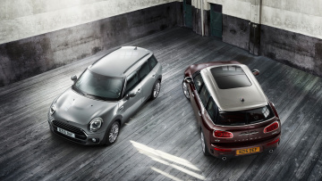 обоя mini clubman d and s 2016, автомобили, mini, clubman, d, s, 2016
