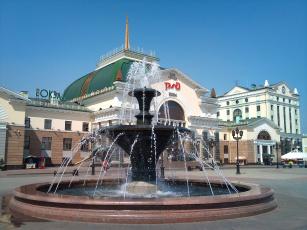 обоя красноярск, города, - здания,  дома, вокзал