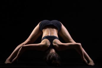 обоя спорт, фитнес, pose, yoga, back, stretching