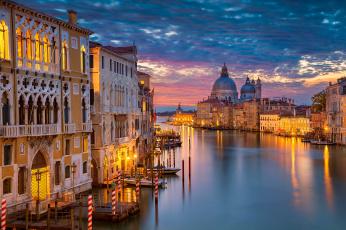 обоя grand canal,  venice, города, венеция , италия, канал