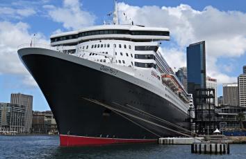 Картинка queen+mary+2 корабли лайнеры лайнер круиз