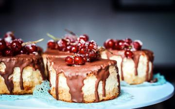обоя еда, пирожные,  кексы,  печенье, смородина, глазурь