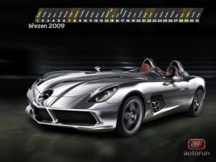 Картинка mercedes benz slr календари автомобили