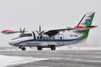 Картинка l-+410 авиация пассажирские+самолёты самолёт l- 410