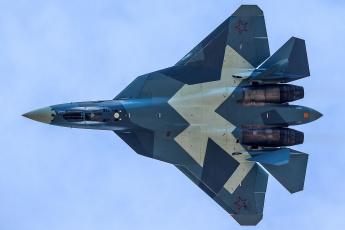 обоя t-50 pak-fa, авиация, боевые самолёты, истребитель