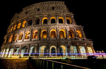 обоя города, - исторические,  архитектурные памятники, ночь, огни