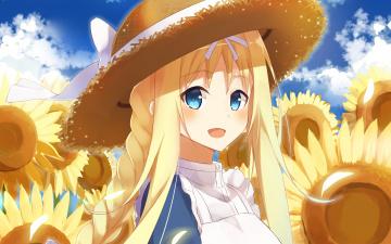 обоя аниме, sword art online, взгляд, девушка, фон