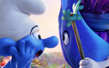 Картинка мультфильмы smurfs +the+lost+village the lost village