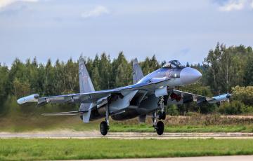 обоя su-35, авиация, боевые самолёты, истребитель