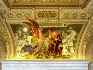 обоя интерьер, убранство, роспись, храма