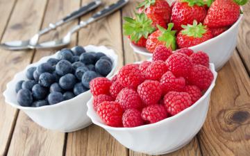 обоя еда, фрукты,  ягоды, berries, raspberry, малина, клубника, fresh, blueberry, strawberry, черника, ягоды