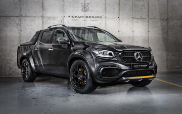 обоя сarlex design,  mercedes-benz x-class exy urban , 2018, автомобили, mercedes-benz, тюнинг, carlex, design, x-class, exy, urban, мерседес, suv, черный, 4k, пикап, x, class, pickups