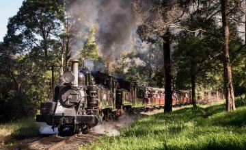 Картинка техника паровозы дорога железная паровоз рельсы