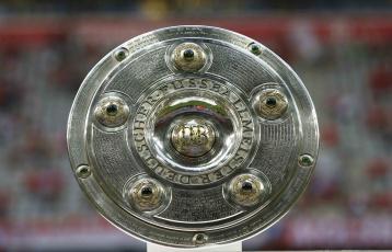 обоя bundesliga trophy 1, спорт, футбол, трофей, trophy, bundesliga