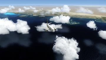 обоя авиация, пассажирские самолёты, самолет, полет