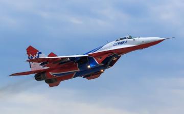 обоя mig-29 swifts, авиация, боевые самолёты, истребитель