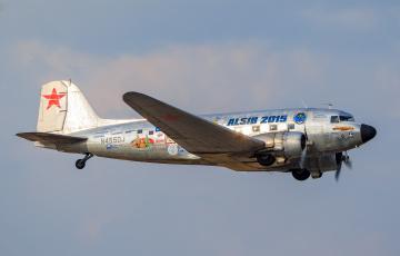 Картинка douglas+c-47a авиация пассажирские+самолёты аэроплан