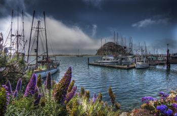 Картинка корабли порты+ +причалы суда причалы бухта