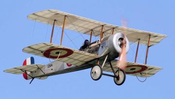 обоя авиация, лёгкие одномоторные самолёты, этажерка